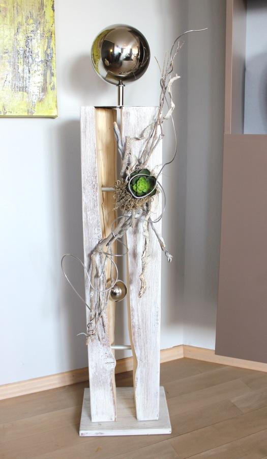 nat rlich dekorieren gro e s ulen. Black Bedroom Furniture Sets. Home Design Ideas