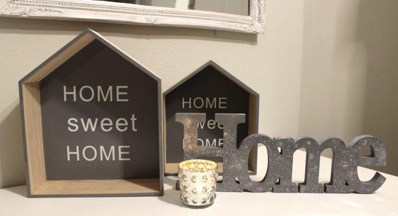 TD146 - Haus Home Set 19,90€ 25 x 21 cm 30 x 25 cm Teelichtglas 5,90€