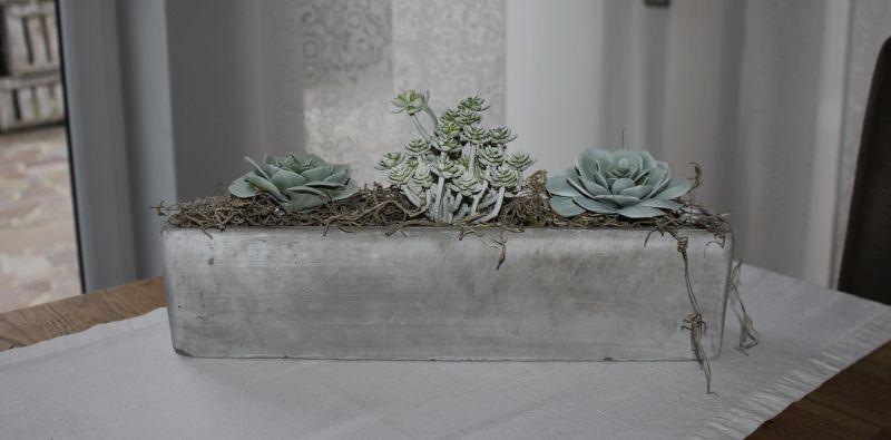Td115 Schale Aus Beton Als Tisch Sideboard Oder Fensterdeko