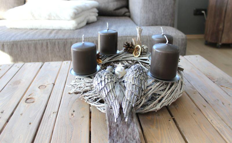 Preis Ohne Kerzen 39,90u20ac U2013 Aufpreis Kerzen 8,00u20ac  Durchmesser 30cm   Erhältlich In Braun, Grau, Grün, ...