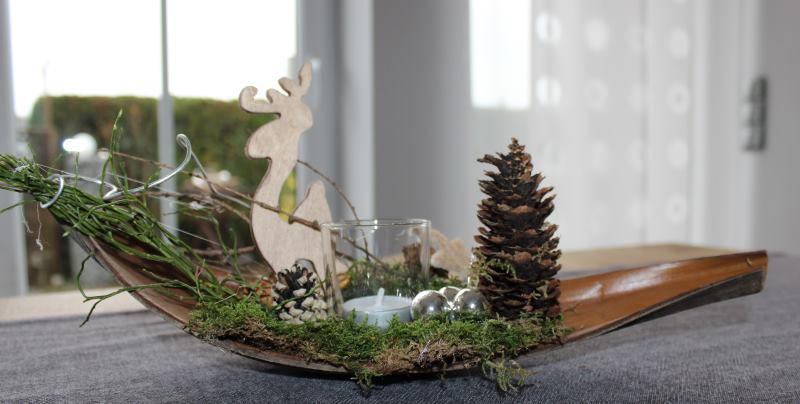 Aw53 kleine winterlandschaft als weihnachtsdeko for Weihnachten wohnung dekorieren