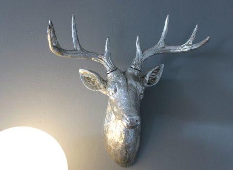 TI010 - Hirschkopf aus Polystein! Preis 74,90€ Höhe 50cm
