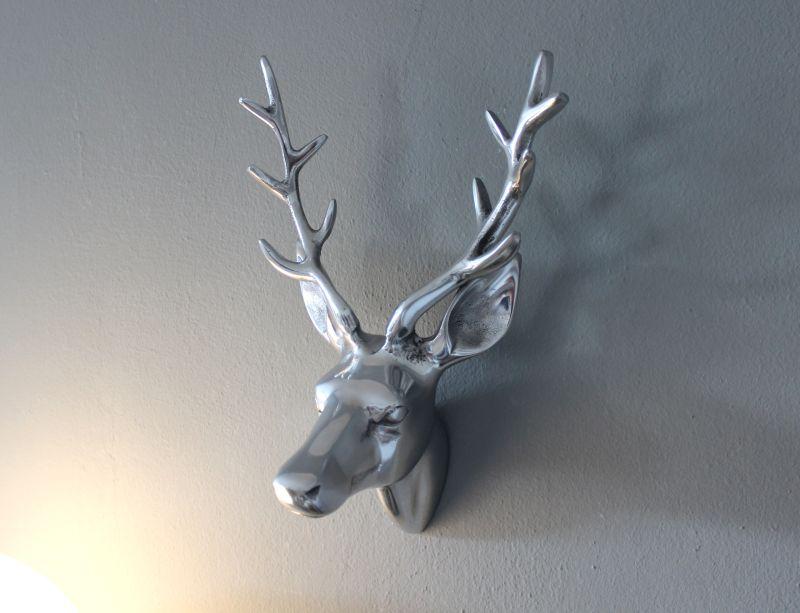 TI011 - Hirschkopf aus Metall! Preis 39,90€ Höhe 30cm
