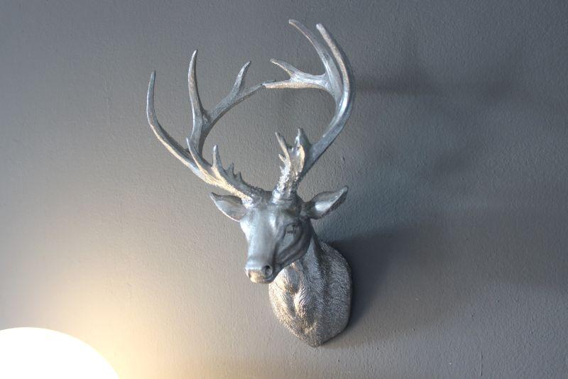 TI012 - Hirschkopf aus Polystein! Preis 29,90€ Höhe 35cm