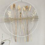 WD140 - Metallring als Tür- oder Wanddeko, dekoriert mit Juteband und Trockenblumen! Preis 19,90€ Durchmesser 30 cm Preis 24,90€ Durchmesser 40 cm